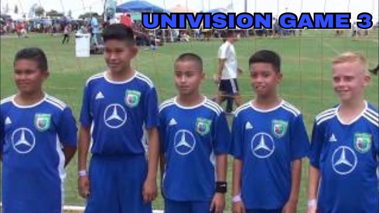 Univision Tournament Game Three U11 Blue Devils June 24, 2017