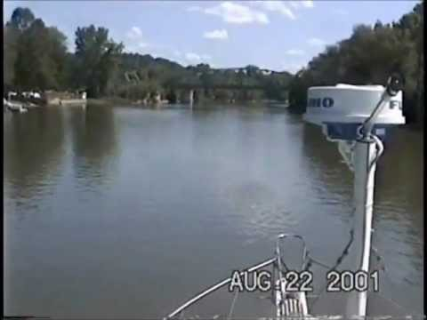 Boat Trip Michigan to Florida Part 1.wmv