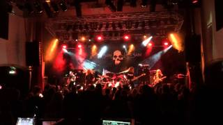 Flotsam and Jetsam She Took an axe live Stockholm Sweden 29 july 2015