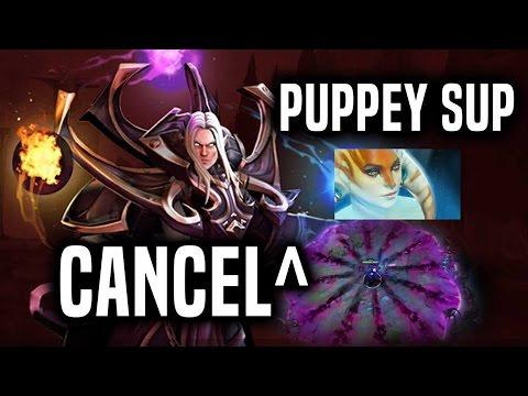 Exort Invoker by CanceL + Puppey Naga support - MMR Dota 2