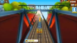 Subway Surfers #7 - (Концовка игры, ПК)
