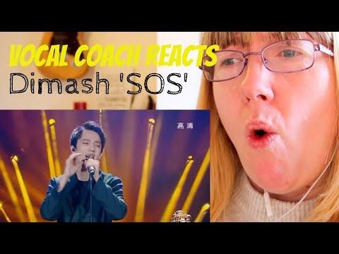 Vocal Coach Reacts to Dimash Kudaibergen SOS dun terrien en détresse