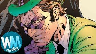 ¡Top 10 Supervillanos más INTELIGENTES!