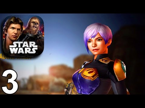 Star Wars: Force Arena - Sabine Wren 1v1s - iOS Android Gameplay Part 3 HD