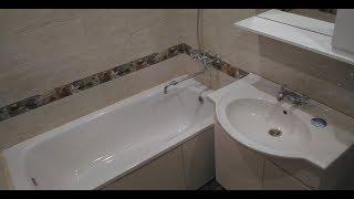 видео Как совместить санузел с ванной в панельном доме? Какие есть особенности?