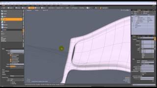MODO model fantasy//dragon//insect wings - quick start