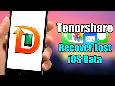 Tenorshare IPhone Data Recovery - Easily Recover Lost Data From Your IOS Device