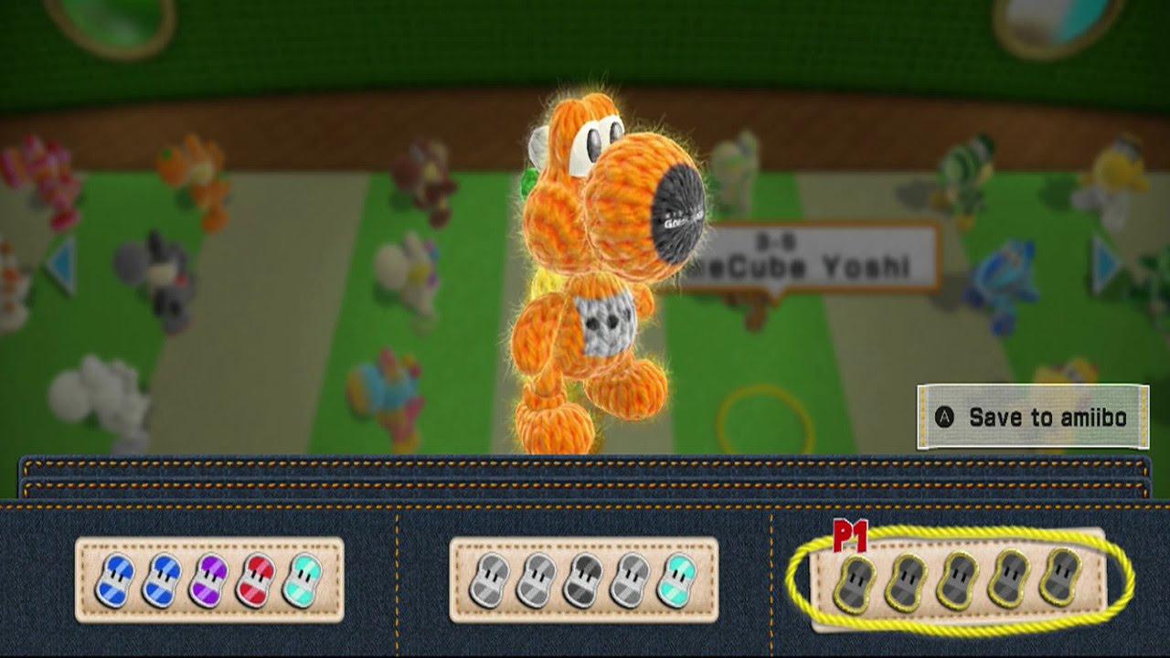 Yoshi\u0027s Woolly World , All Yoshi\u0027s Design Colors (Yarn Yoshi Amiibo) ,  YouTube