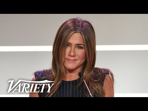 Jennifer Aniston Has Special Message for Young Girls Full Power of Women Speech