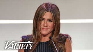 Jennifer Aniston Has Special Message for Young Girls - Full Power of Women Speech