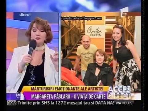 Margareta Paslaru interviu despre lansarea propriei carti ''Eu si Timpul