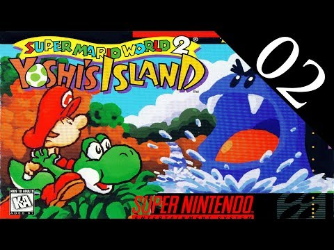 [02] Yoshi's Island (SNES) Playthrough