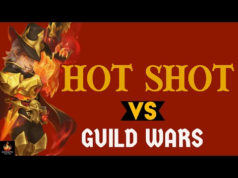 Hot Shot Vs Top Bases In Castle Clash