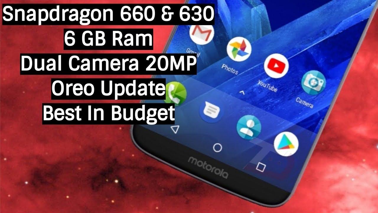Smartphones with Snapdragon 660 & 630: (Top 6 )
