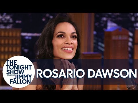 """Rosario Dawson on Her """"Not"""" Date with Questlove and How Cory Booker Got Her Number"""