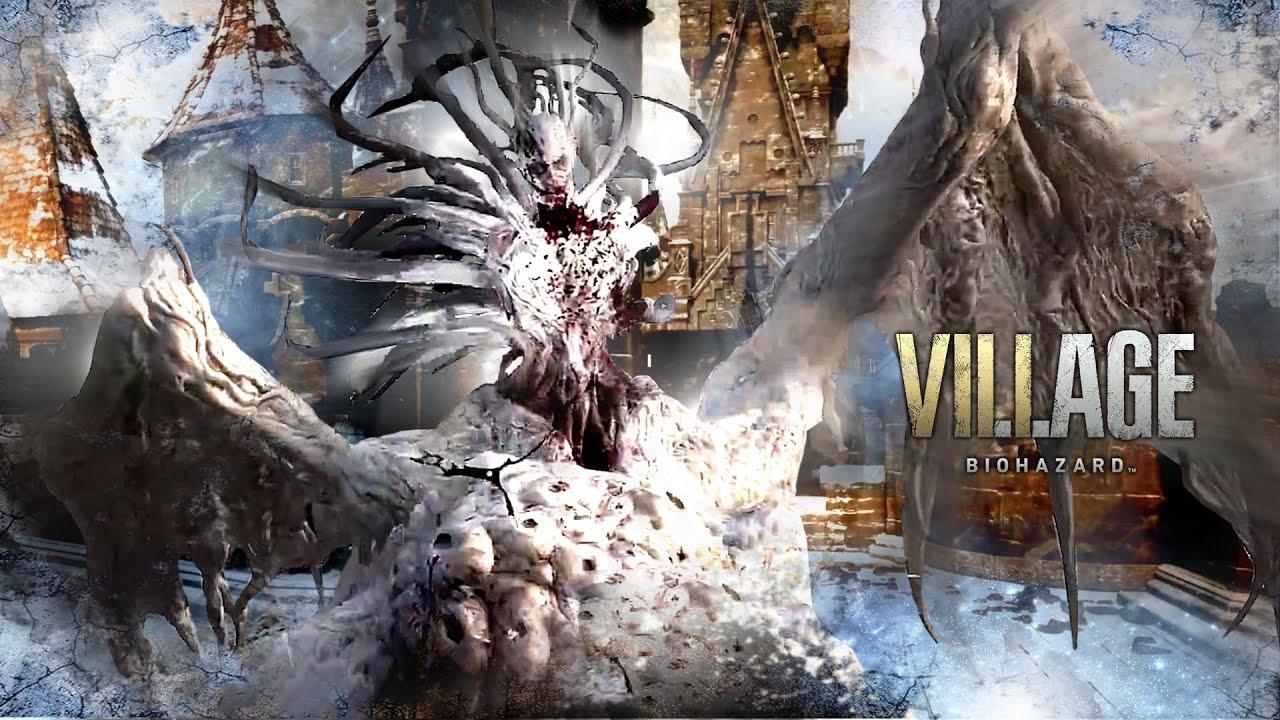 """バイオ8ヴィレッジ最高難易度ドラゴン&ライカンナイフノーダメ【身も凍りつく衝撃シーン集】Resident Evil 8 """"Village of Shadows"""" No Damage & Knife"""