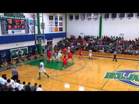 Overland Basketball 2nd Round Highlights 2016