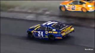Monster Energy NASCAR Cup Series Bristol2 2017 Chase Elliott Crash