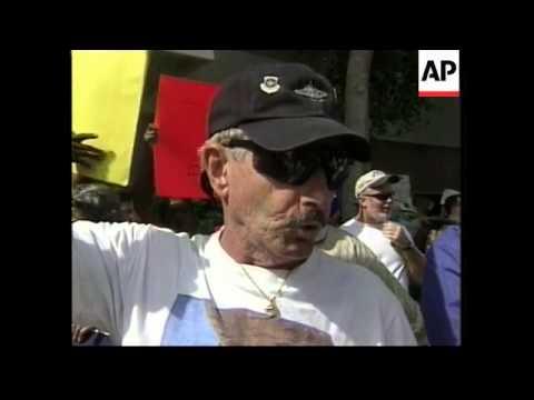 USA: FLORIDA BALLOT PROTESTS