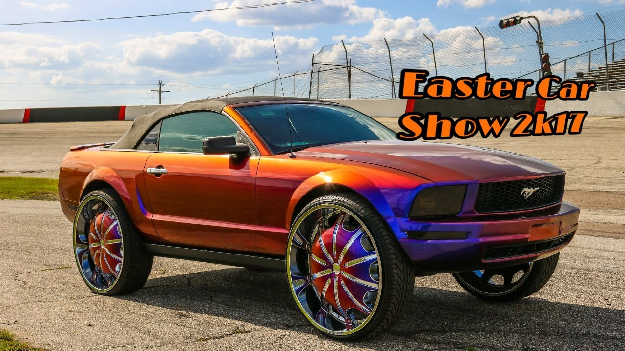 Easter Car Show 2k17 in HD (must See) (lifted trucks, big rims ...