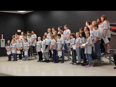 Stokes County DARE 2018 Walnut Cove Elementary School