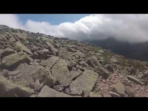 Katahdin Hiking: Hamlin Descent GoPro via Saddle Trail(with BIG SURPRISE)