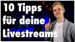 10 Tipps für deine Livestreams: So wird jeder Livestream von Musikern zum Erfolg | Adamant Music