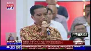 Debat Capres 2014: Pendalaman Visi Jokowi dan Prabowo