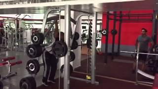 Sumit Kashyap Coach sportsfit gym by M S Dhoni Lko