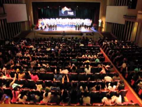Manila Science High School Chorale - Triumph of the One Concert @ St. Paul Audi on Dec. 14,2013