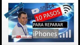 10 CLAVES PARA REPARAR IPHONES : Reparar Exitosamente, IC Touch, IC Power, Modem