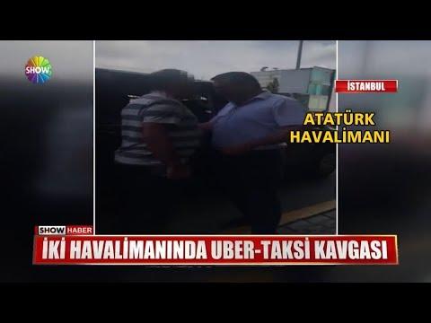 İki havalimanında UBER - Taksi kavgası
