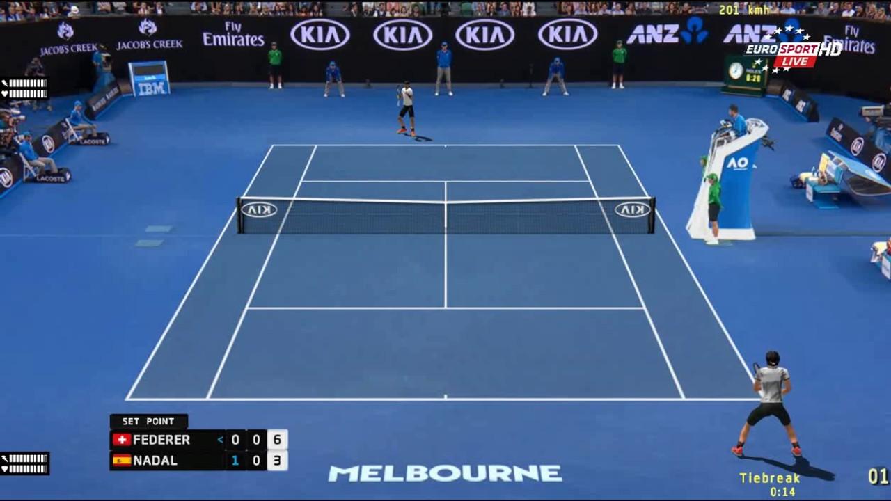 Roger Federer Vs Rafael Nadal Australian Open 2017