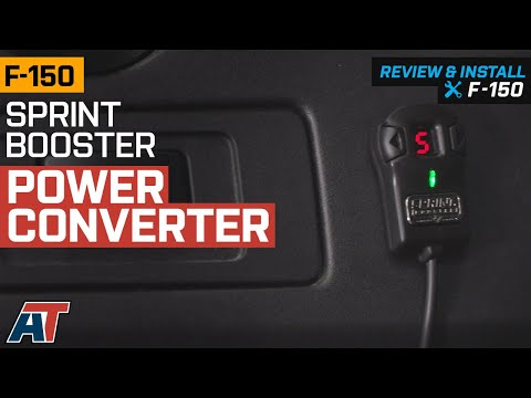 2011-2019 F150 Sprint Booster Power Converter Review & Install