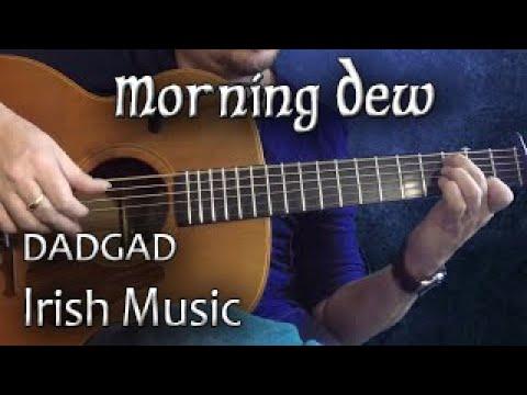 Morning Dew - Irish Guitar - DADGAD Fingerstyle Reel