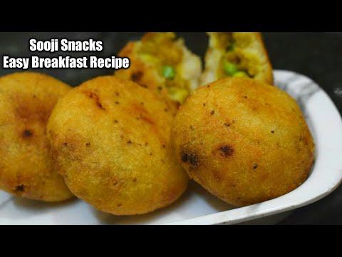 सूजी से बनाये ऐसा टेस्टी नाश्ता जो बड़े और बच्चे सभी को पसंद आये Sooji Snacks   Suji Snacks Recipe