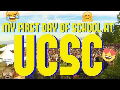 A DAY IN MY LIFE AT UCSC