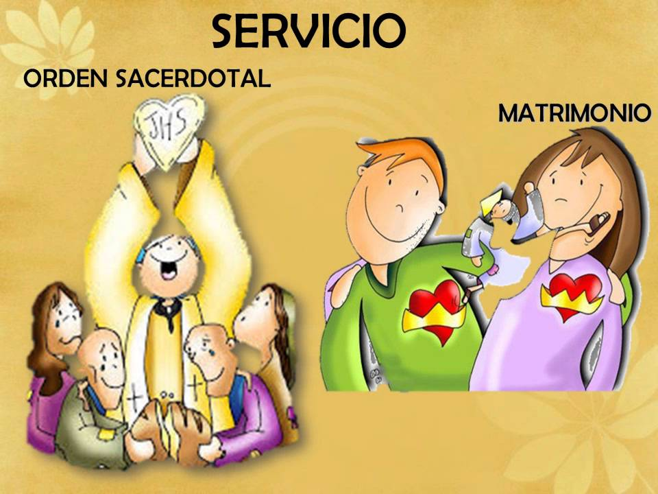 Resultado de imagen para sacramentos de servicio