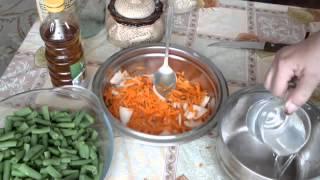 Спаржевая фасоль по корейски рецепт