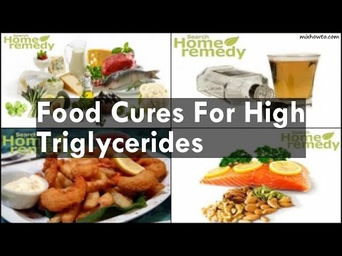 Foods Not To Eat For High Triglycerides