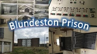 Exploring an empty abandoned prison | FOUND REGGIE KRAY'S CELL | Blundeston Prison
