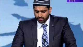 Urdu Nazm: Humnashin Tujh Ko Hay Ik Pur Amn Manzil - Second Session Jalsa Salana UK 2013