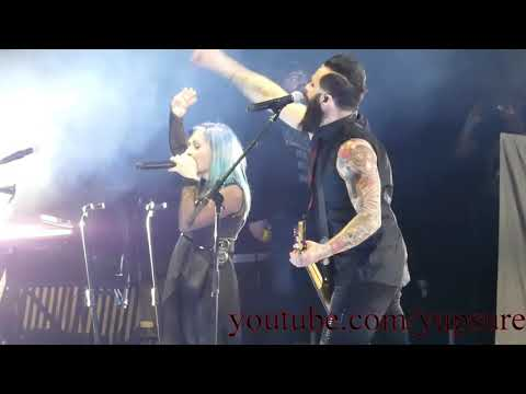 Skillet – Awake and Alive (With Lacey Sturm) – Live HD (Dow Event Center 2019)