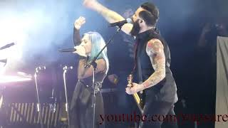 Skillet - Awake and Alive (With Lacey Sturm) - Live HD (Dow Event Center 2019)