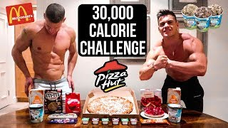 30,000 Calorie Challenge | Bodybuilders VS Food | Epic Cheat Day