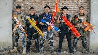 LTT Game Nerf War : Warriors SEAL X Nerf Guns Fight Criminal Group Inhuman Unequal Battle