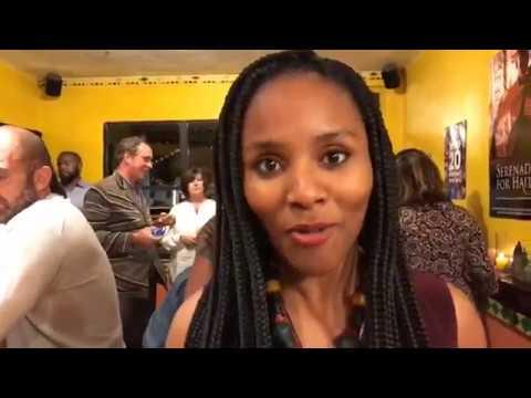 Jimmy JeanLouis Host Haitian Film Festival Social In Miami