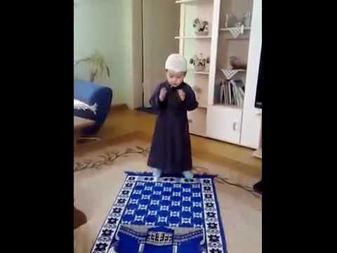 Small Kid Adhaan And Salah Youtube