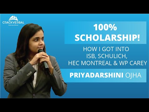 How I got into ISB, Schulich, HEC Montreal & WP Carey (100% Scholarship)