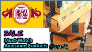 Amazon Great Indian Festival Sale | Amazon India Shopping Haul 2019 | Unboxing & Product Review